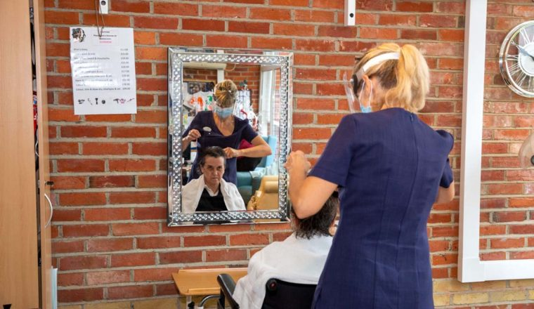 Laurel Care Home Hairdresser