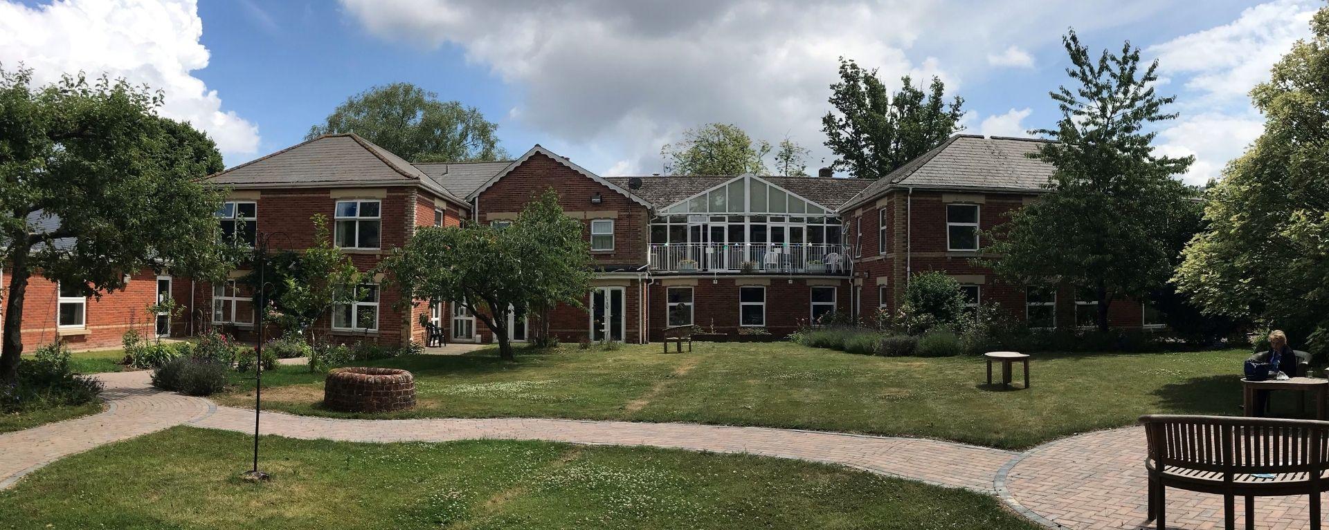 Back of Laurel Care home